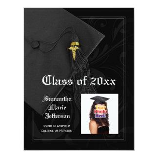 Graduación de la foto de la Facultad de Medicina o Invitación Personalizada