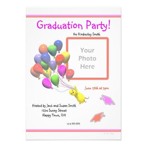 Preschool Graduation Invitation Template