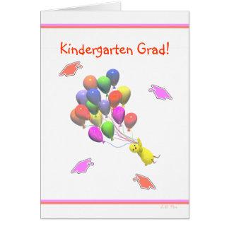Graduación de la guardería del polluelo y de los tarjeta