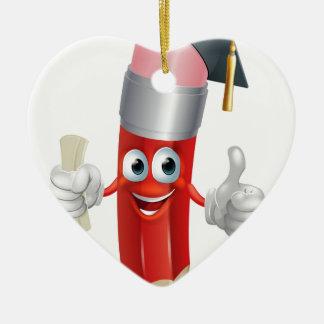 Graduación de la mascota del lápiz ornamente de reyes