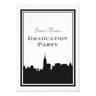 Graduación de la silueta #2 DIY del horizonte de Invitación 12,7 X 17,8 Cm