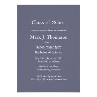 Graduación de la universidad/de la universidad de invitación 12,7 x 17,8 cm