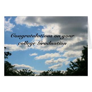 graduación de la universidad felicitación
