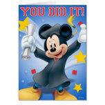 Graduación de Mickey
