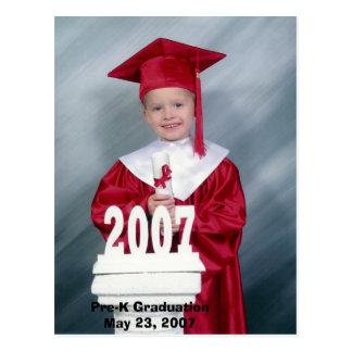 Graduación de Pre-K Postal