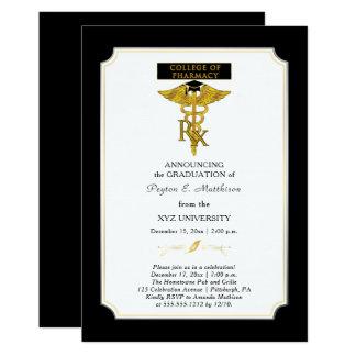 Graduación del farmacéutico |Toxicology de la Invitación 12,7 X 17,8 Cm