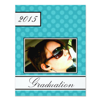 Graduación del fiesta de casa abierta del trullo invitación 10,8 x 13,9 cm