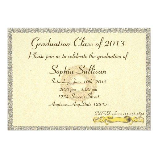 Graduation Diploma Certificate