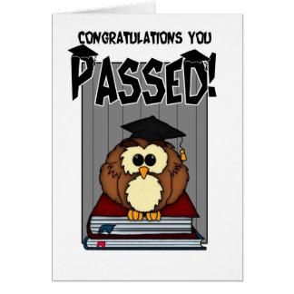 Graduación/exámenes - PA de la graduación de la Tarjeton