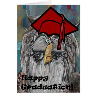 ¡Graduación feliz! Tarjeta De Felicitación