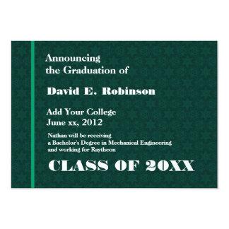 Graduación geométrica moderna de la universidad comunicado