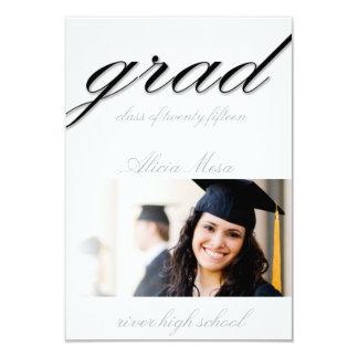 Graduación Invitación 8,9 X 12,7 Cm