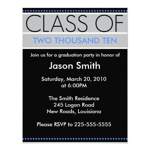 Graduación Invitaciones Personalizada