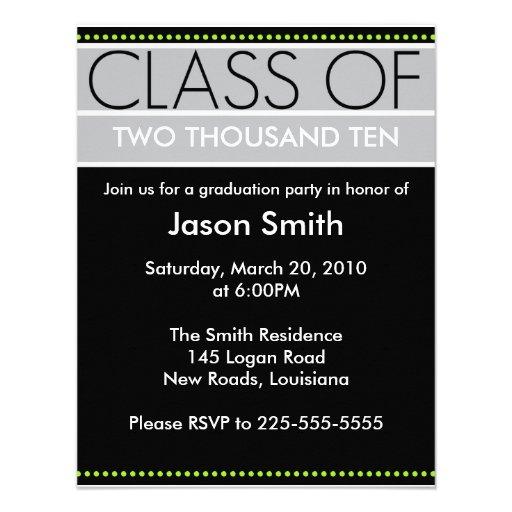 Graduación Invitación Personalizada