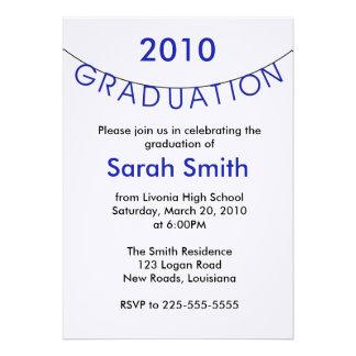 Graduación Invitación