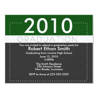 Graduación Invitación 10,8 X 13,9 Cm