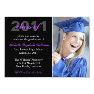 Graduación Invitación 12,7 X 17,8 Cm