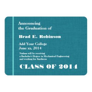 Graduación moderna de la universidad 2014 o comunicado personalizado