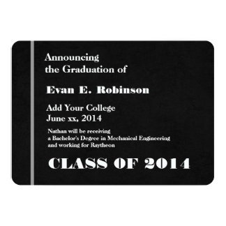 Graduación moderna de la universidad 2014 o comunicados personalizados
