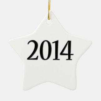 Graduación negra 2014 3D Adorno