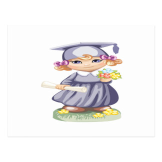 Graduación preescolar postal
