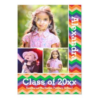 Graduación Preschool/K de la foto del niño de Invitación 12,7 X 17,8 Cm