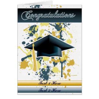 Graduación Tarjeta De Felicitación