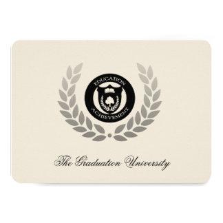 Graduación tradicional de la universidad del invitación 11,4 x 15,8 cm
