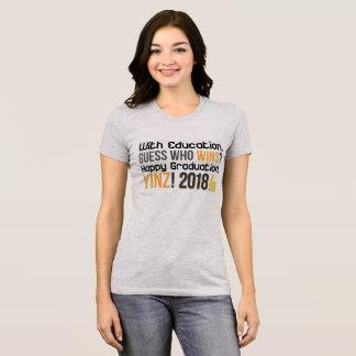 ¡Graduaciones felices, Yinz! Diseño de la camiseta
