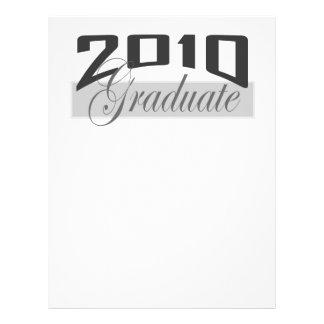 Graduado 2010 folleto 21,6 x 28 cm