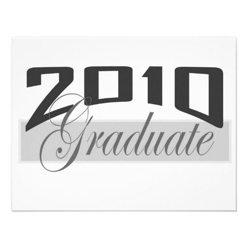Graduado 2010 comunicados