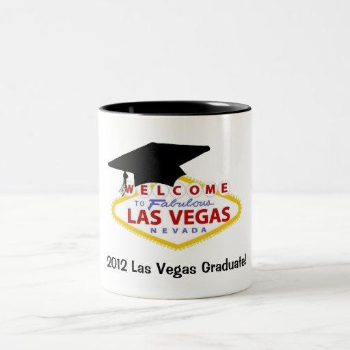 ¡Graduado 2012 de Las Vegas! Taza