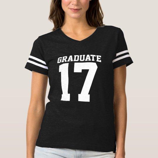 Graduado 2017 camiseta