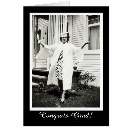¡Graduado de Congrats! Tarjetas