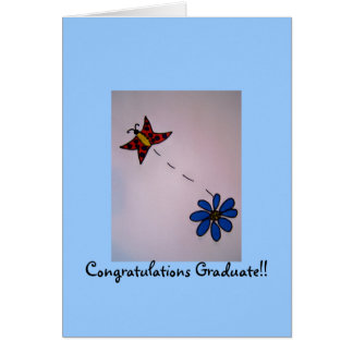 ¡Graduado de la enhorabuena!! Tarjetón