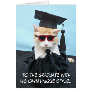 ¡Graduado de la enhorabuena! Tarjeta