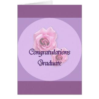 Graduado de la enhorabuena felicitacion