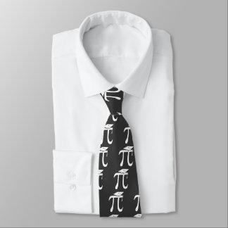 Graduado de la matemáticas pi corbata personalizada