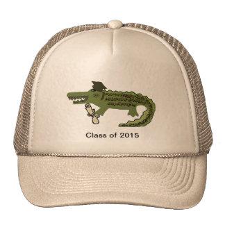 Graduado del cocodrilo gorro