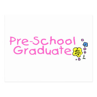 Graduado del preescolar postal