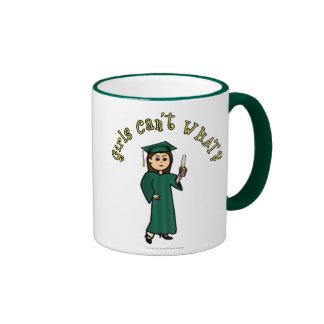 Graduado ligero en verde taza a dos colores