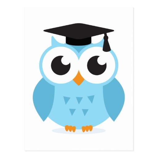 graduado_lindo_del_buho_del_ ...