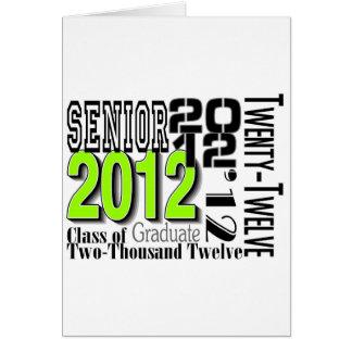 graduado tarjeta de felicitación