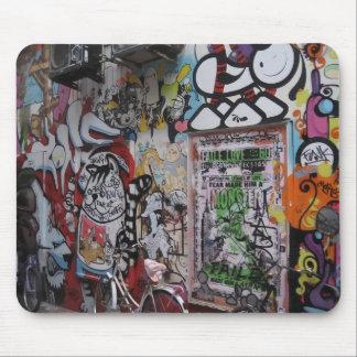 Graff colorido alfombrilla de ratón