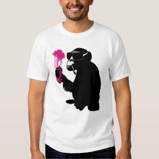 graffiti monkey camiseta