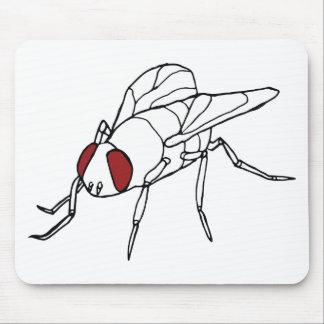 gráfico animal del ejemplo del insecto de la mosca alfombrilla de ratón
