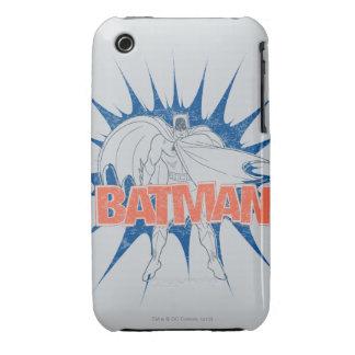 Gráfico de Batman Case-Mate iPhone 3 Cárcasas