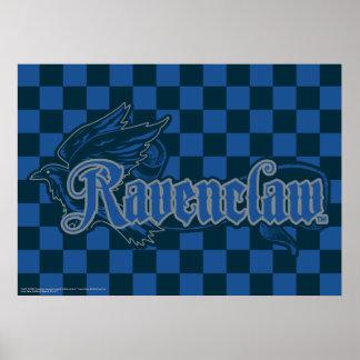 Gráfico de Harry Potter el   Ravenclaw Eagle Póster