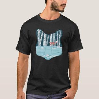 Gráfico de la original de los árboles del Fox y de Camiseta