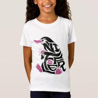 Gráfico de la tipografía de Niffler Camiseta